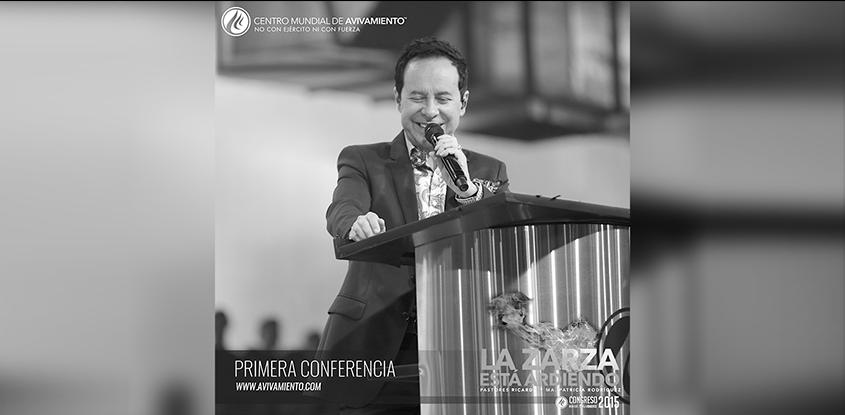 Galeria Primera conferencia- Congreso Mundial de Avivamiento 2015