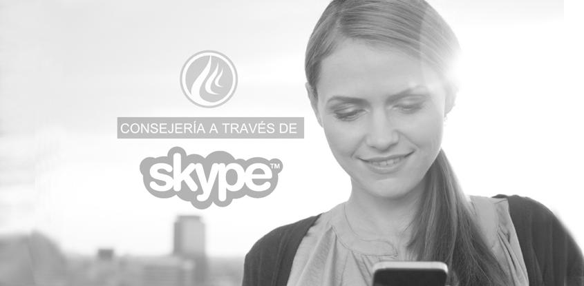 Consejería a través de Skype