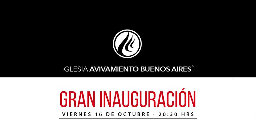 Gran Inauguración de la Iglesia Online Buenos Aires