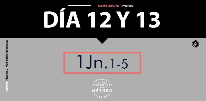 Día 12 y 13- Explorando el nuevo testamento III
