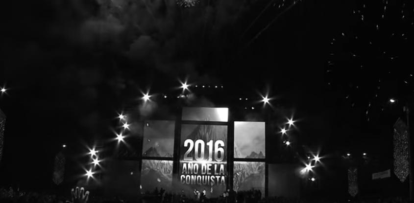 Feliz año 2016- Vídeo