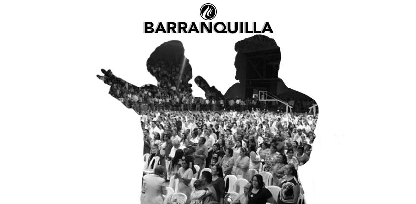 Barranquilla fue visitada por el Espíritu Santo