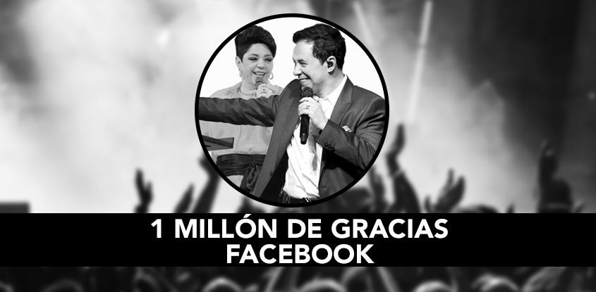 Más de un millón de seguidores en Facebook