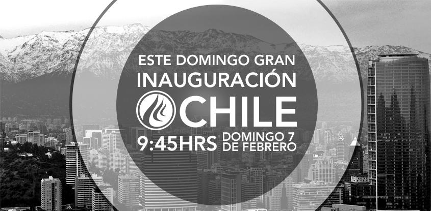 Gran Inauguración Iglesia Avivamiento- Santiago de Chile