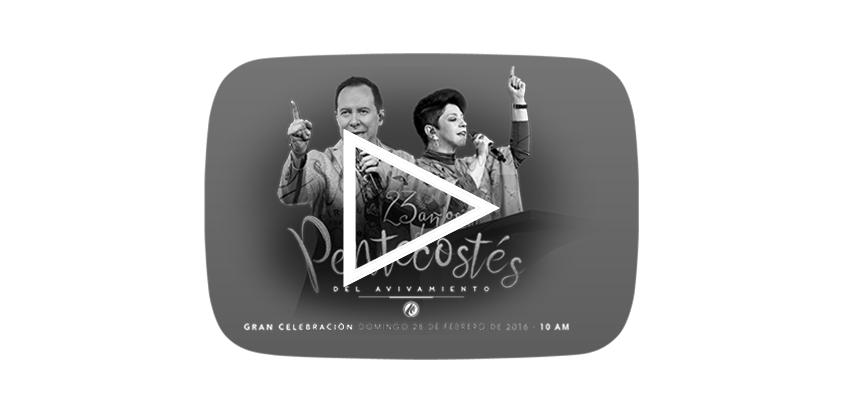 En vivo-23 Aniversario del Pentecostés de Avivamiento