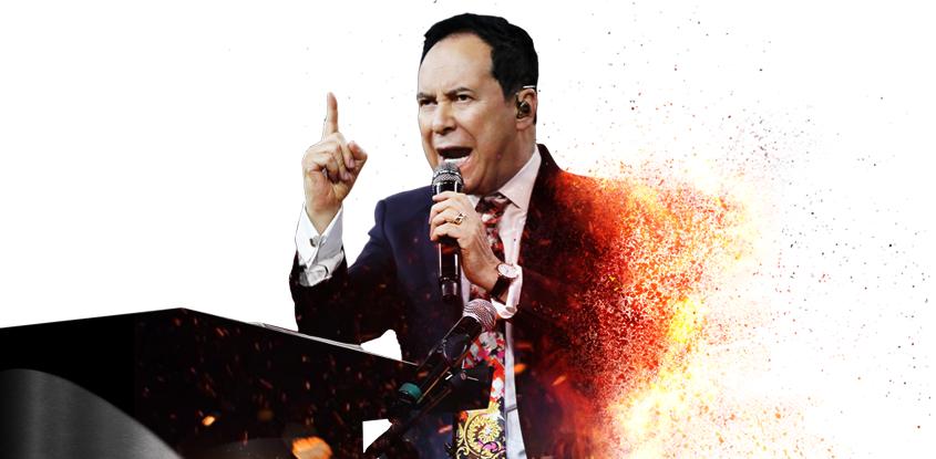 #FuegoEnMisHuesos Conferencia #6 - Pastor Ricardo Rodríguez
