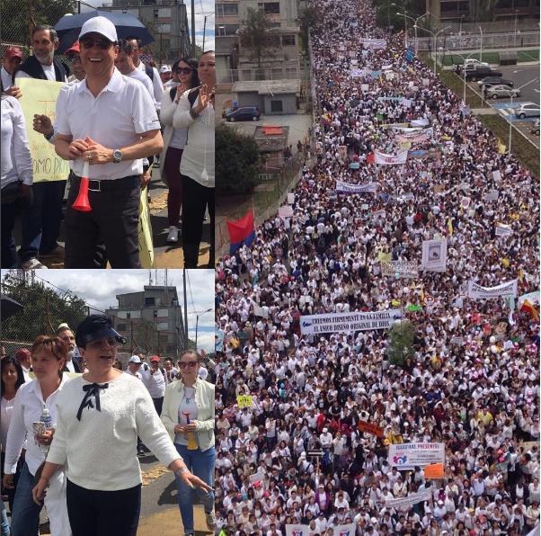 Así se vivió la gran Marcha Nacional #SigoFirmePorPapaYMama