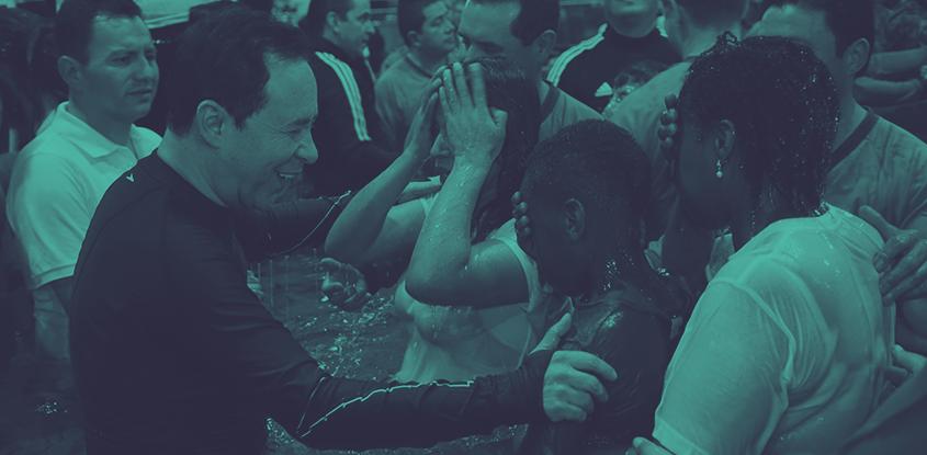 Primer bautismo masivo Nacional