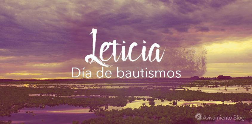 Bautismos en la capital del Amazonas