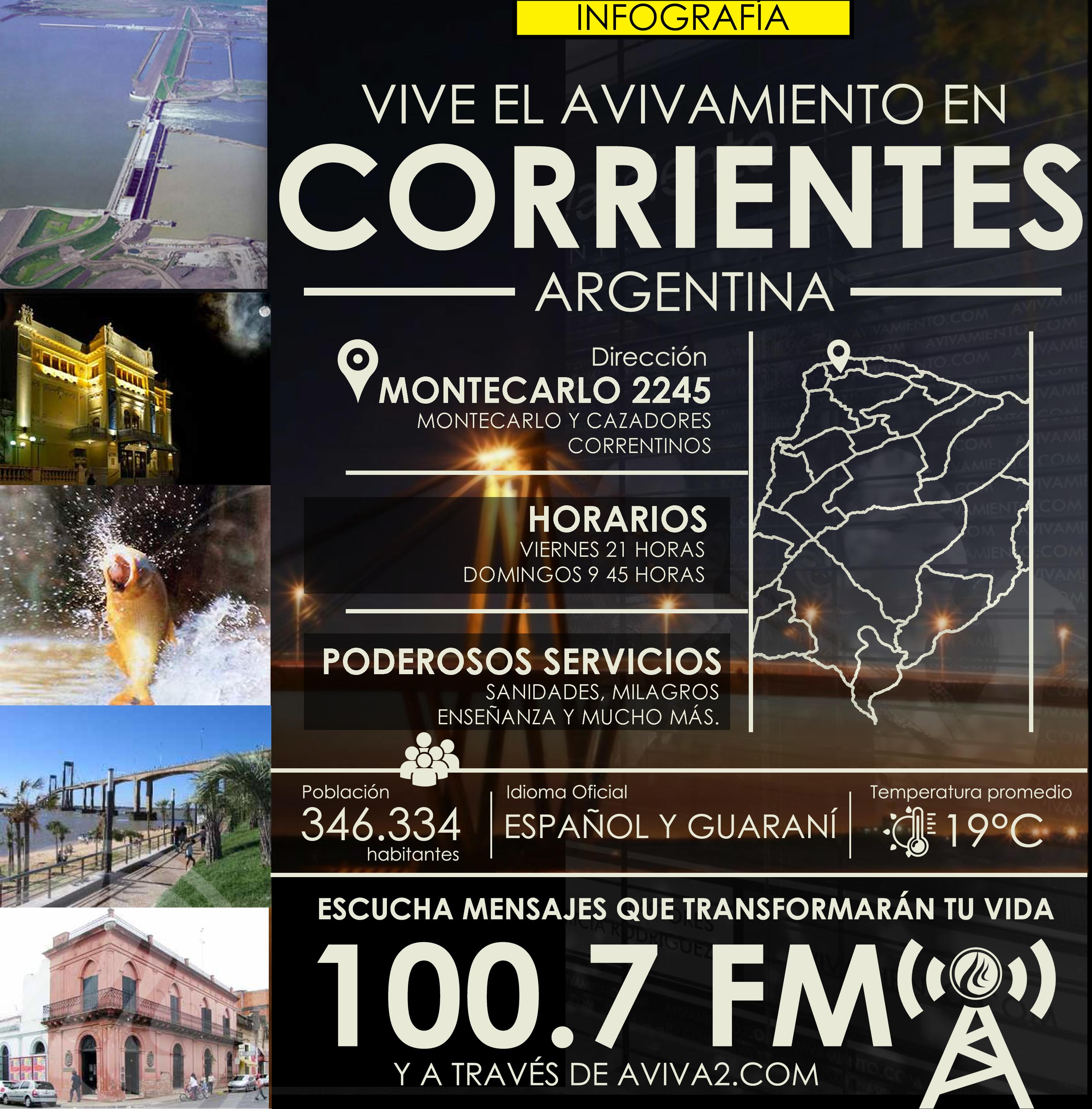 Aviva2 llega a Corrientes - Argentina en los 100.7 FM