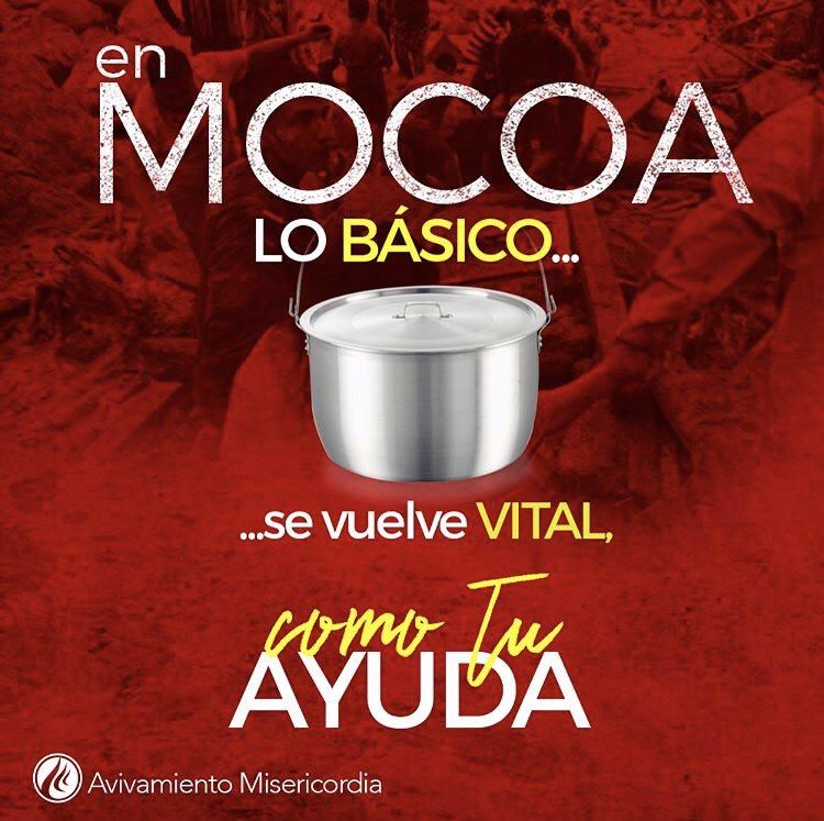 Tú también puedes unirte a la ayuda para los habitantes de Mocoa
