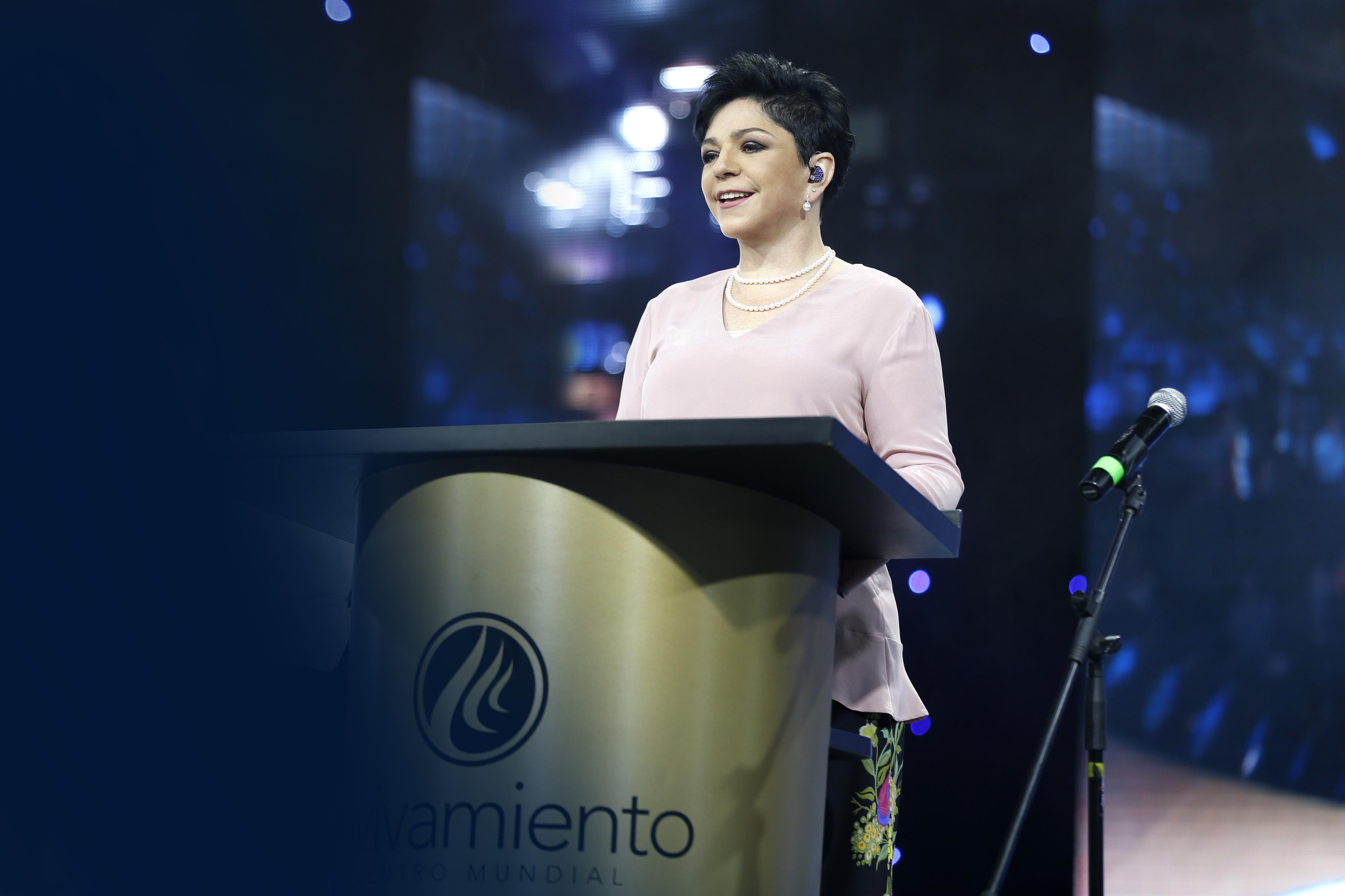 Conferencia #4 - Pastora María Patricia Rodríguez - La presencia de Dios