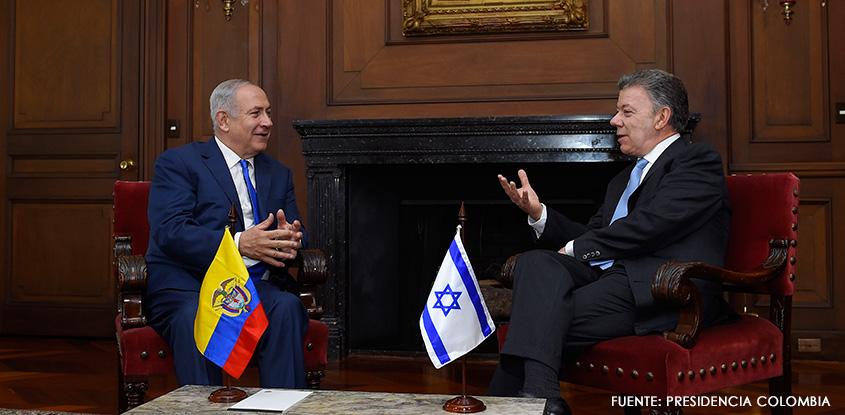 Histórica visita del primer ministro de Israel a Colombia
