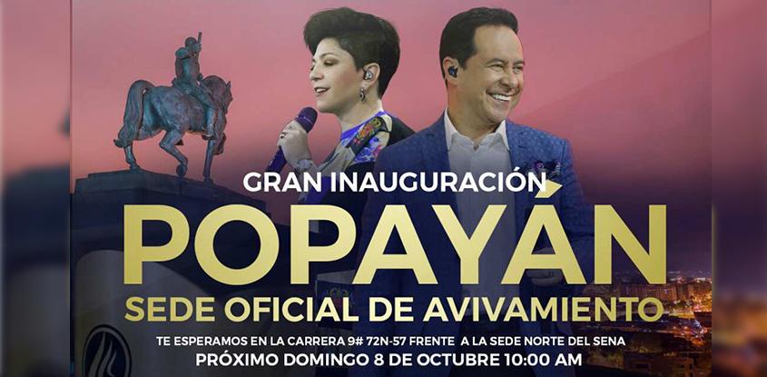Inauguración Avivamiento Popayán
