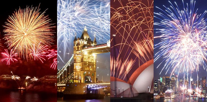 Las celebraciones más grandes de fin de año a nivel mundial