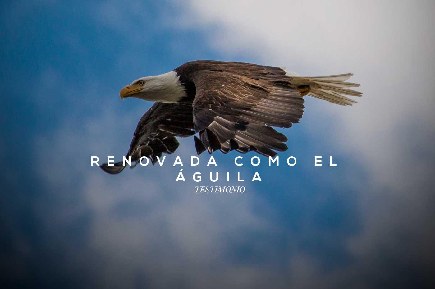 Renovada como el águila- Testimonio