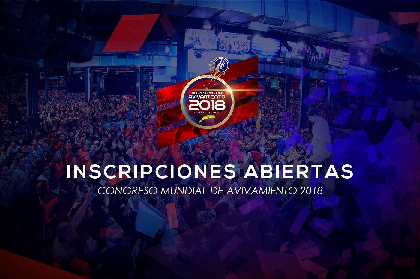 ¡Dios de segundas oportunidades!                            Ven al Congreso Mundial de Avivamiento 2018