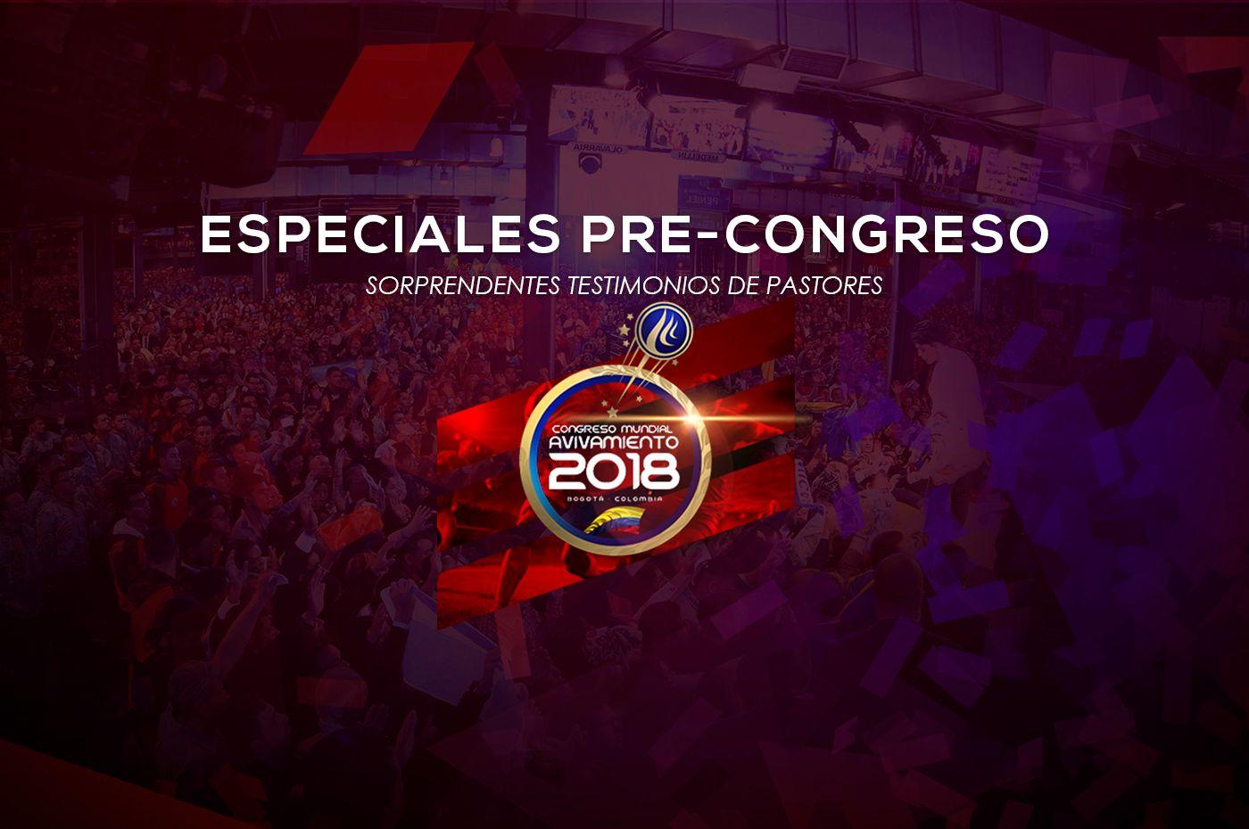 Poderosos especiales de congreso todos los viernes a las 3:00 p.m