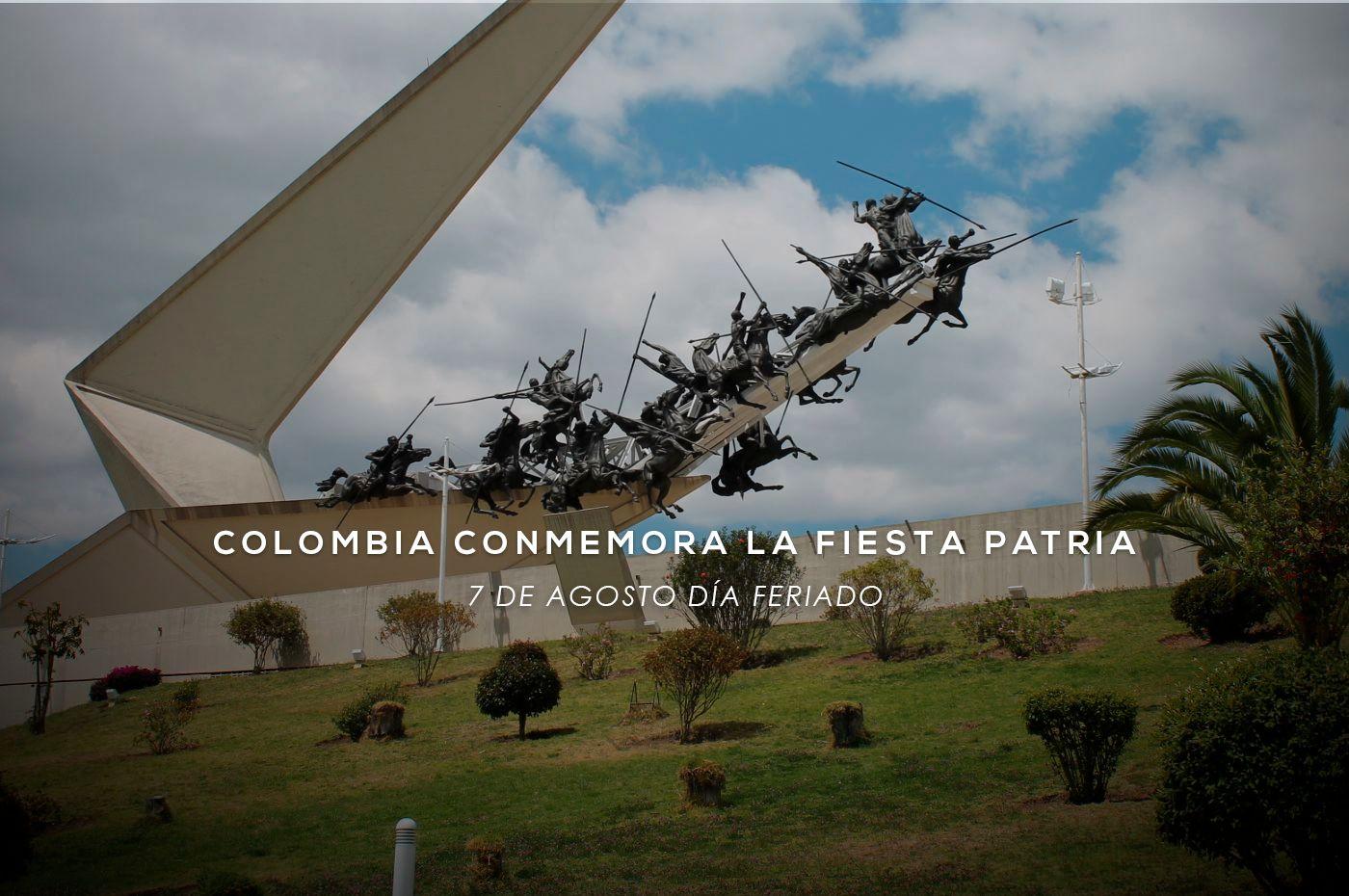 Colombia conmemora la fiesta patria