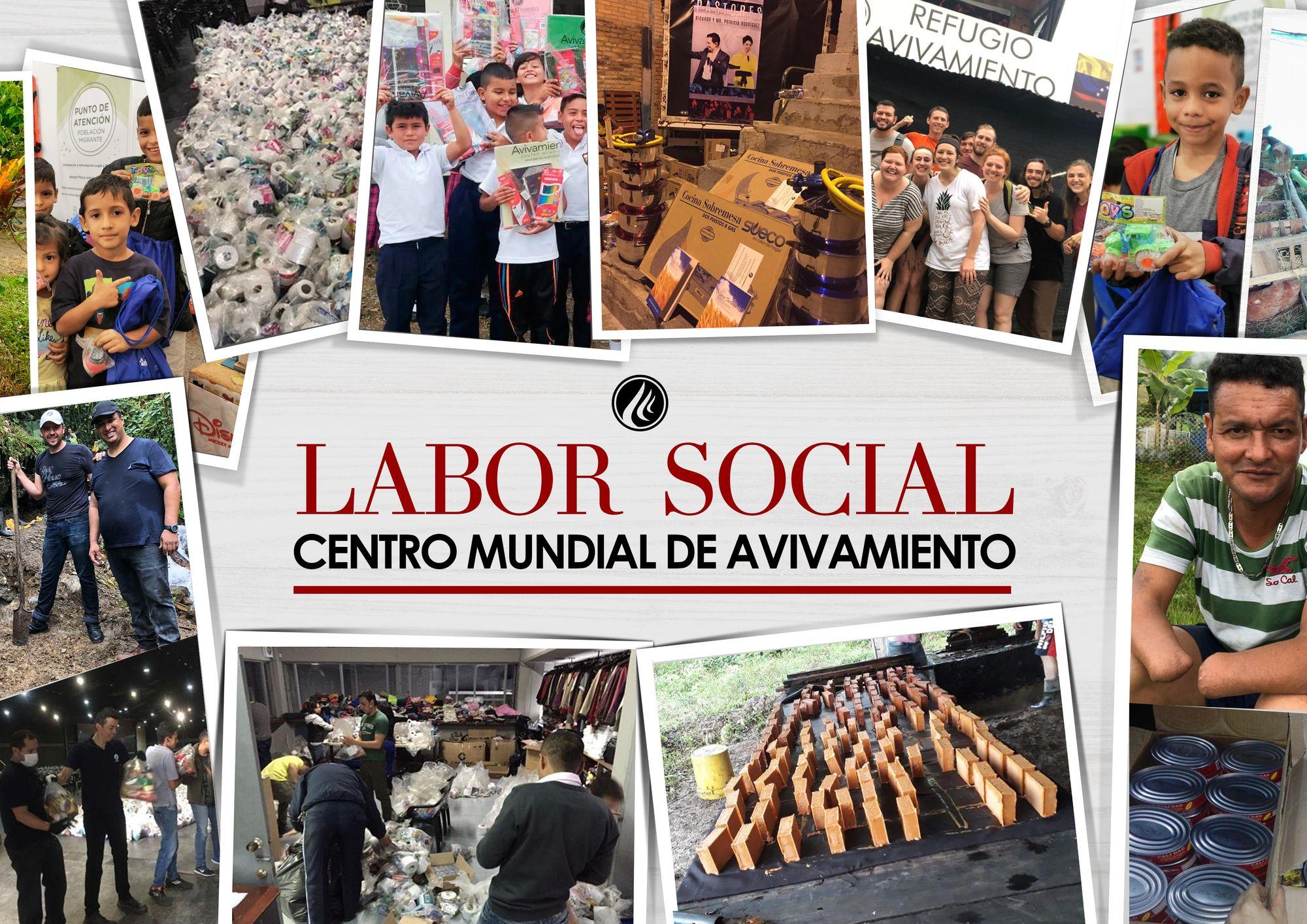Labor social del Centro Mundial de Avivamiento