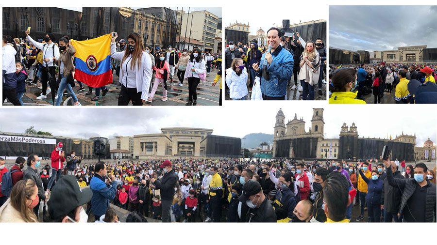 Comenzaron los 7 días de clamor por Colombia