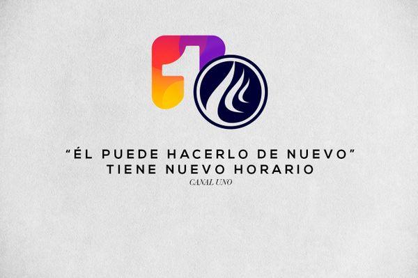 Avivamiento en Canal Uno ¡Nuevo horario!