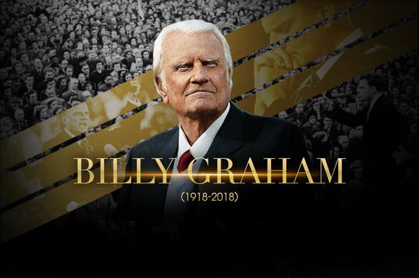 Parte el evangelista más grande del Siglo XX-Billy Graham