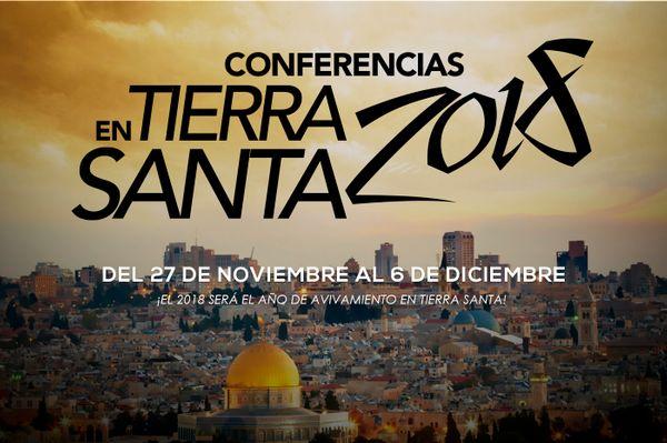 Conferencias en Tierra Santa 2018