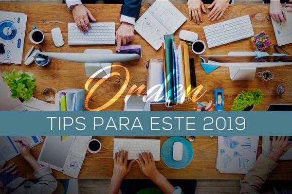 Tips de organización para este 2019