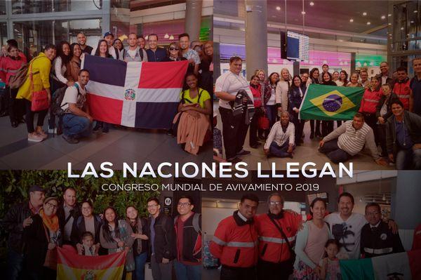 Miles llegan al Congreso Mundial de Avivamiento