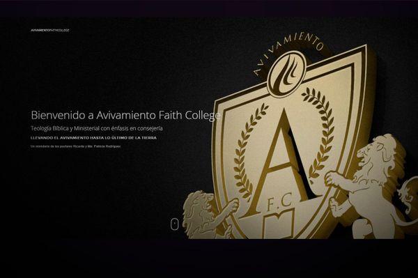 Muy pronto Avivamiento Faith College On-Line